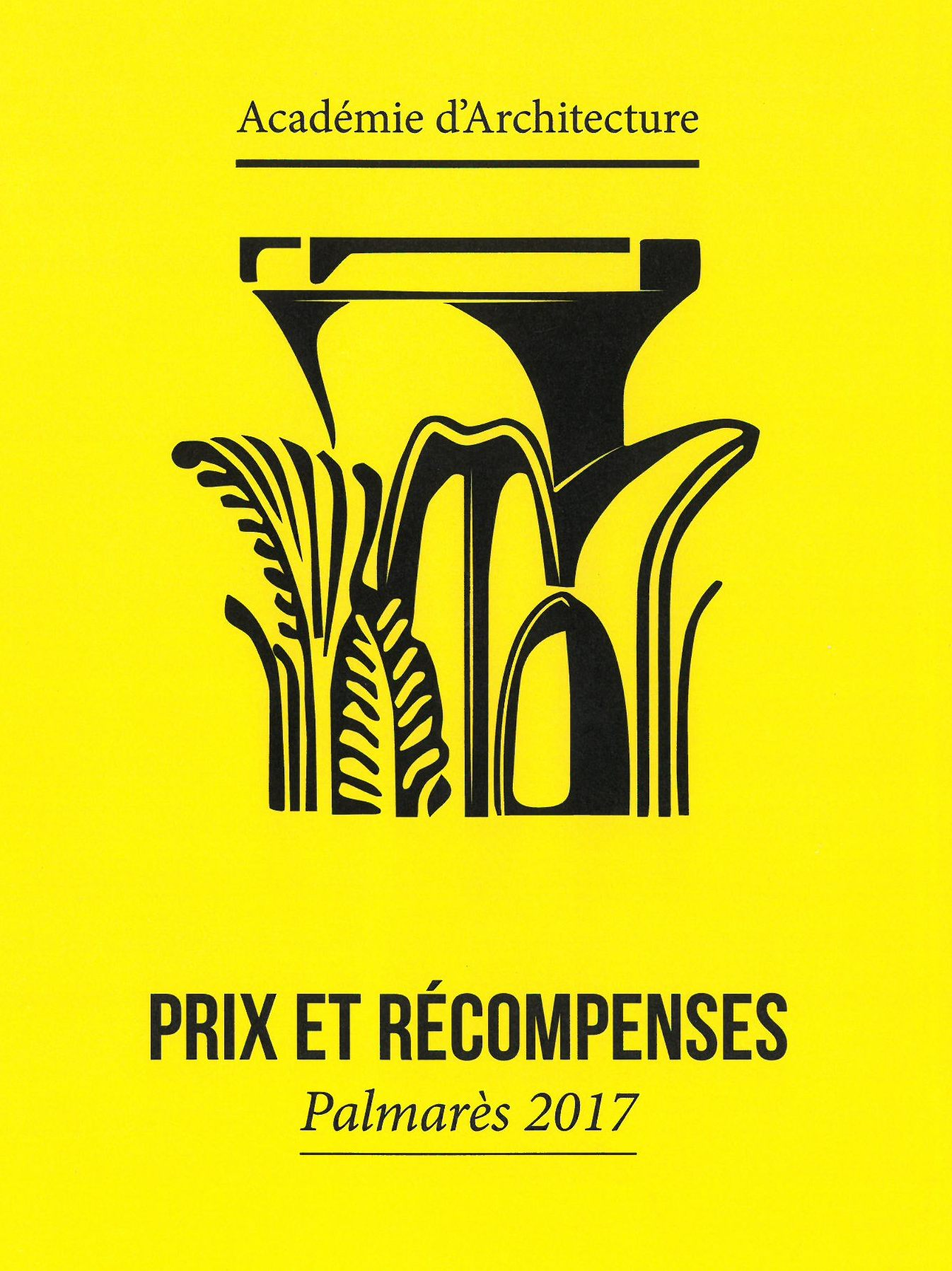 Les Ateliers de la Chapelle - Prix et récompense de l'Académie d'Architecture 2017