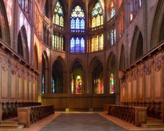 Les Ateliers de la Chapelle - Les Stalles de Nevers - vue d'ensemble