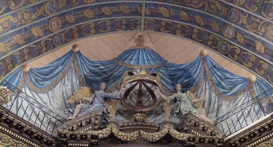 Retiers - Voûte lambrissée du chœur, état final