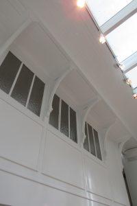 Hotel Follot menuiseries et plafond de l'atelier restaurés