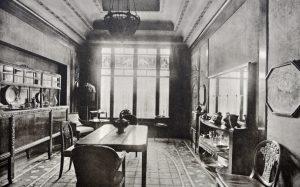 Hotel Follot salle à manger 1923