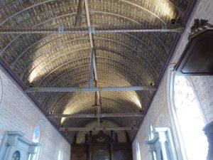 Boissy-en-Drouais restauration de la voûte lambrissée 2018