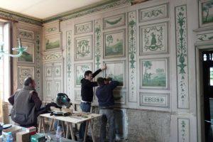 Maison de Louis XIV - Restauration des boiseries de la salle à manger