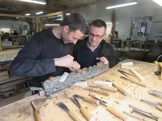 Restauration des décors du Belem - Matthieu Testard et Dominique Bienaimé
