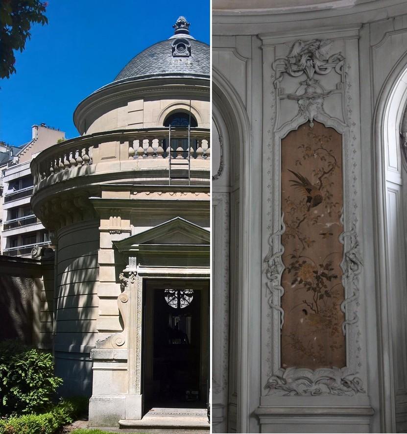 Restauration des décors de la Rotonde Balzac, Paris - Ateliers de la Chapelle