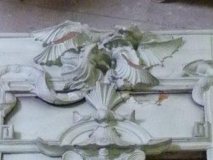 Restauration des décors de la Rotonde Balzac, Paris - Etat initial - Ateliers de la Chapelle