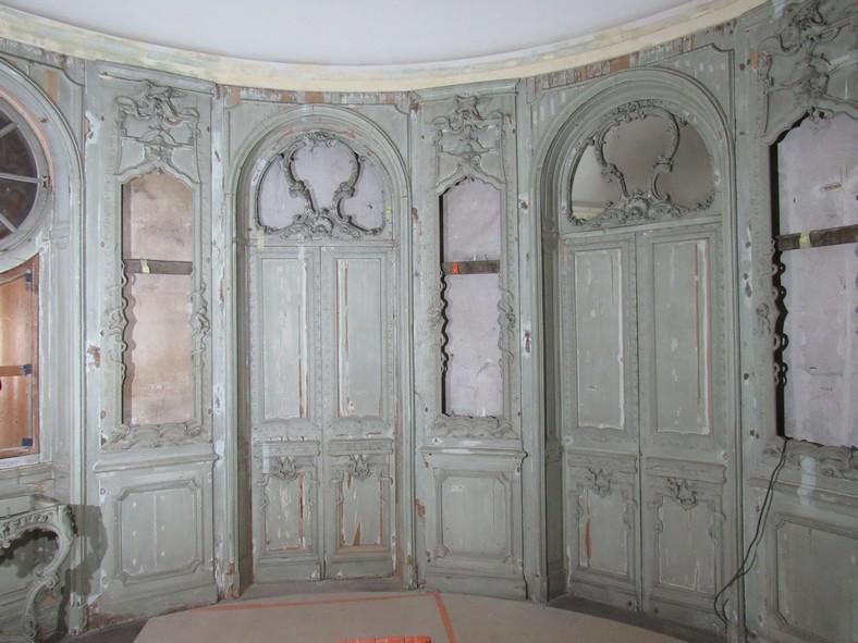 Restauration des décors de la Rotonde Balzac Paris, repose©Ateliers de la Chapelle