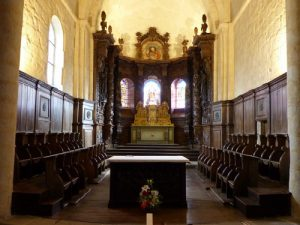 Ahun - Eglise Saint-Sylvain - Restauration des boiseries du choeur - 2019©Les Ateliers de la Chapelle