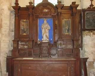 Retable de la Vierge-Saint Prix-Ateliers de la Chapelle