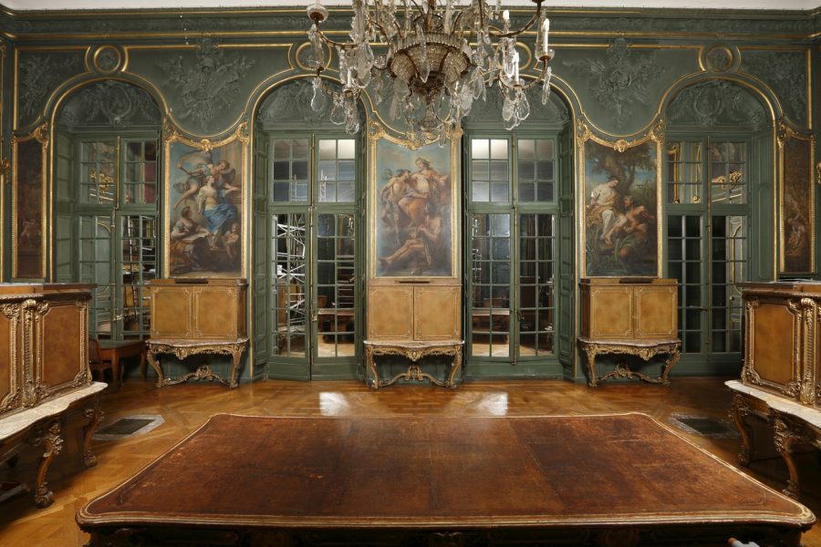 Le Salon Louis XV - Bibliothèque Nationale de France