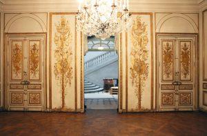 Salon d'Uzès avant restauration Musée Carnavalet-AteliersdelaChapelle